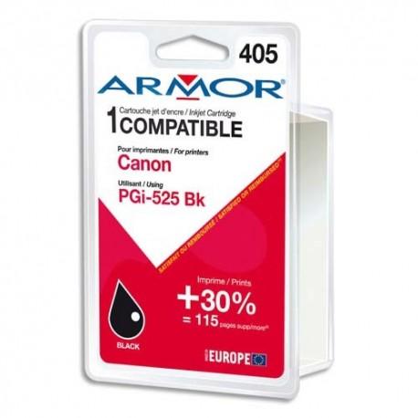 ARMOR compatible Jet d'encre Black pour CANON PGI-525PGBK K12560