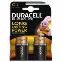 DURACELL Blister de 2 Piles Alcaline 1,5V  C LR14 Plus Power 4105379