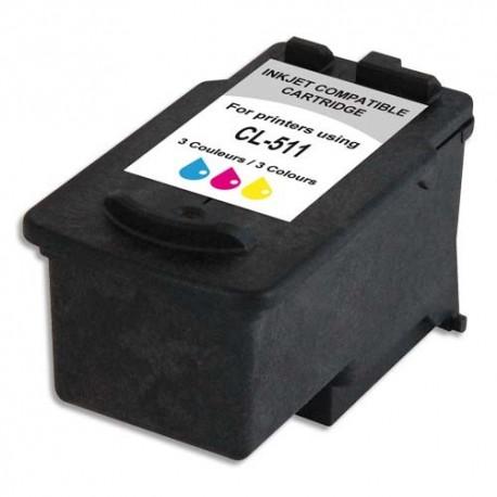ARMOR compatible Jet d'encre 3 coul pour CANON CL-511 K20282