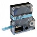 EPSON Ruban satin LK4LBK Noir/Bleu Ciel 12mmx5m  C53S654032