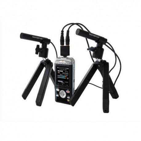 OLYMPUS Kit DM-901 Enregistreur numérique 4Go+carte micro SD + 2 microphones ME-30