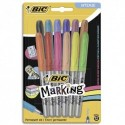 BIC Blister de 12 marking color couleur intense