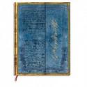 PAPERBLANKS - Carnet Les Manuscrits Estampés Lettre Wordsworth «Daffodils» Midi 13x18cm 144 pages lignées