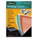 FELLOWES Boîte de 100 plats de couvertures Futura A4 polypropylène noir 280µ 5476602