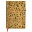 PAPERBLANKS - Carnet Marqueterie d'Or Midi Mini 9,5x14cm 208 pages lignées
