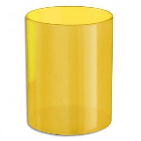 NEUTRE Pot à crayons jaune