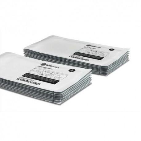 SAFESCAN Pack de 10 lingettes de nettoyage pour compteuses de billets 136-0546
