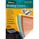 FELLOWES Boîte de 100 plats de couvertures Futura A4 polypropylène transparent 280µ 5376501