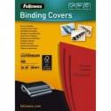 FELLOWES Boîtes de 25 couvertures DELTA format A4 rouge 5373701