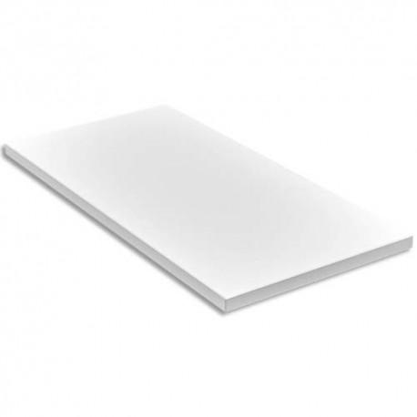 GAUTIER Top caisson bout de bureau Yes Blanc - Dimensions : L42 x H2,5 x P80 cm