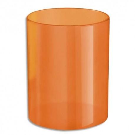 NEUTRE Pot à crayons orange
