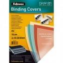 FELLOWES Boîte de 100 plats de couvertures PVC 200 microns A4 jaune 5377001