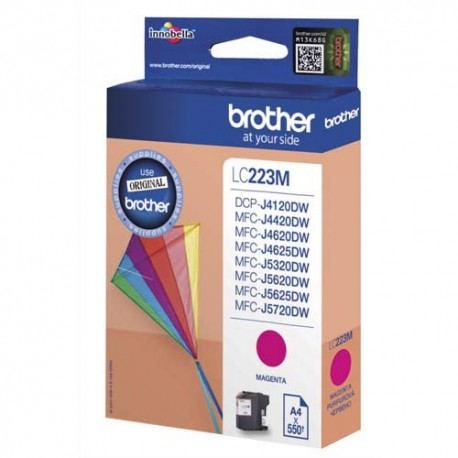 BROTHER LC-223M (LC223M) Cartouche jet d'encre magenta de marque brother LC223M (LC-223M)