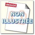 Bobine double enroulement Exacmpta 57 x 70 x 12 mm, CB blanc/CF jaune