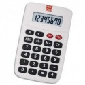 PLEIN CIEL Calculatrice de poche 8 chiffres KC-889 référence 108 coloris Noir/Rouge