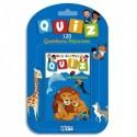 LITO DIFFUSION Jeu de cartes Quizz 120 questions réponses thème animaux