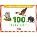 LITO DIFFUSION Boîte de 100 bons points animaux préhistoriques