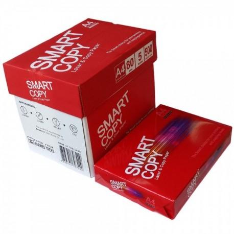 ALIZAY Ramette de 500 Feuilles A4 papier blanc 80 grammes SMART COPY
