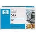 HP 51A (Q7551A) - Cartouche toner noir de marque HP N°51A (Q7551A)