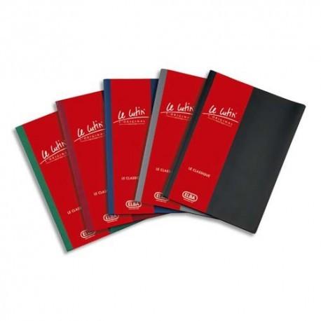 Lutin porte vue de la Marque ELBA, protège-documents avec une couverture PVC 34/100e et des pochettes PVC 5,5/100e