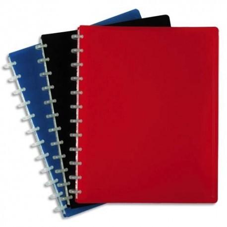 VIQUEL Protège-documents MAXI GEODE en pp opaque 5/10e. 60 vues, 30 pochettes