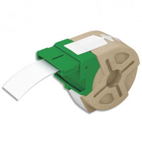 LEITZ 70080001 - Cartouche ruban d'étiquettes continues cartonnées 32mmx22m papier Blanc 157g/m² 70080001