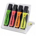 Surligneur Stabilo ink jet BOSS EXECUTIVE jaune ou assortis (4) - Assortis (4)