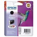 T0801 (T080140) EPSON Cartouche jet d'encre noir de marque Epson C13T080140