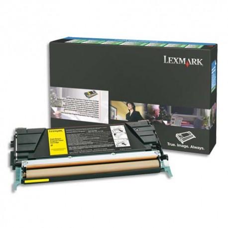 LEXMARK C734A1CG - Cartouche toner cyan LRP de marque Lexmark C734A1CG