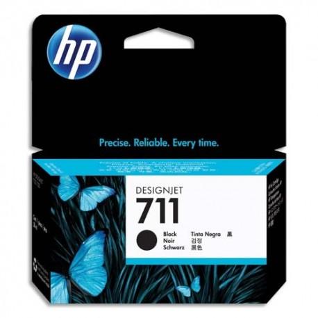 HP Cartouche d'encre noir 711 CZ129A