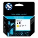 HP Cartouche d'encre jaune 711 CZ132A