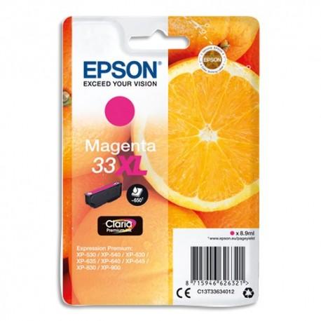 EPSON (T3363) cartouche jet d'encre xl magenta C13T33634010