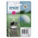 """EPSON (T3463) Cartouche """"balle de golf"""" jet d'encre durabrite ultra magenta C13T34634010"""