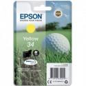"""EPSON (T3464) Cartouche """"balle de golf"""" jet d'encre durabrite ultra jaune C13T34644010"""