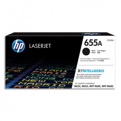 HP Toner noir HP655A CF450A