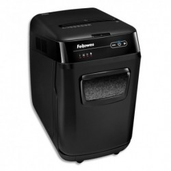 FELLOWES Destructeur AUTOMAX 200M sécurité P-5, coupe micropart, corbeille 32L 4656301