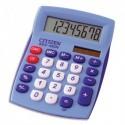 CITIZEN Calculatrice de bureau 8 chiffres Bleue SDC450NBLCFS