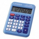 CITIZEN Calculatrice de poche 8 chiffres Bleue LC110NBLCFS