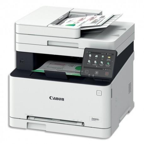 CANON Multifonction MF635CX laser couleur 18ppm Fax Chargeur RV 1 passe Réseau R/V & PCL 1475C025