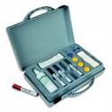 VANERUM Kit malette conférence contenant : 4 feutres, 8 aimants, 1 effaceur et 1 Spray nettoyant