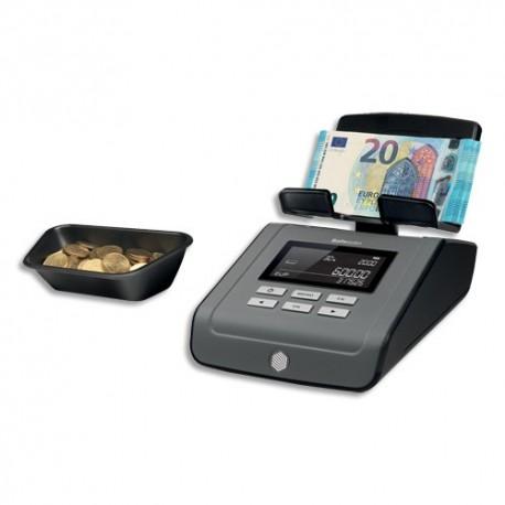 SAFESCAN Compteuse balance de pièces et de billets 6165 Noire pour toutes les devises 131-0573