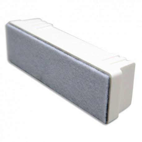 VANERUM Effaceur Gris magnétique pour tableau effaçables à sec, feutre rechargeable L14,5 x H4,5 x P4 cm