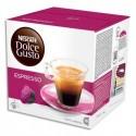DOLCE GUSTO Boîte de 16 capsules Espresso de pur Arabica moulu 96g