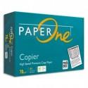 INAPA Ramette 500 feuilles papier blanc PAPER ONE A4 70g CIE 160. Copieur, laser, jet d'encre. PEFC