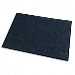 PAPERFLOW Tapis d'accueil Grattant recyclé Green & Clean Gris, aspect velours, en polyamide L150 x H90 cm