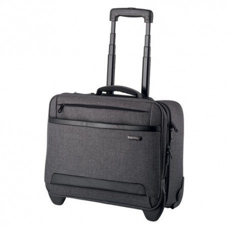 "JUSCHA Trolley gris Arcon business pour ordinateur 15"" 42,5x37x21cm  46134"