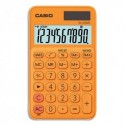CASIO Calculatrice de poche 10 chiffres Orange SL-310UC-RG-S-EC