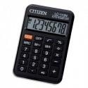 CITIZEN Calculatrice de poche 8 chiffres Noir LC110N