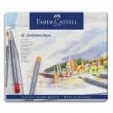 FABER CASTELL Etui de 48 crayons de couleur GOLDFABER aquarellables. Coloris assortis