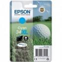 "EPSON (T3472) Cartouche ""balle de golf"" jet d'encre durabrite ultra cyan XL C13T34724010"